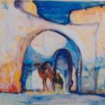 Djerba entrance to Caravan Serai