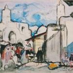 Kairouan street and mosque