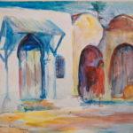 Djerba door and arches