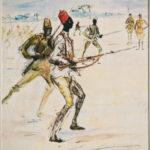 Gabes, Senegalese troops