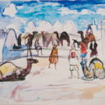 069 Tunisia, camels