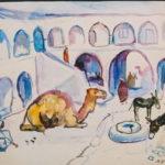 072 Tunisia, Camel and donkeys