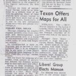 Parker, Sun article on him 1949